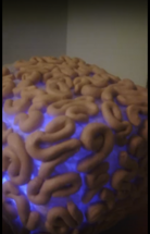 art_and_code - Talking brain