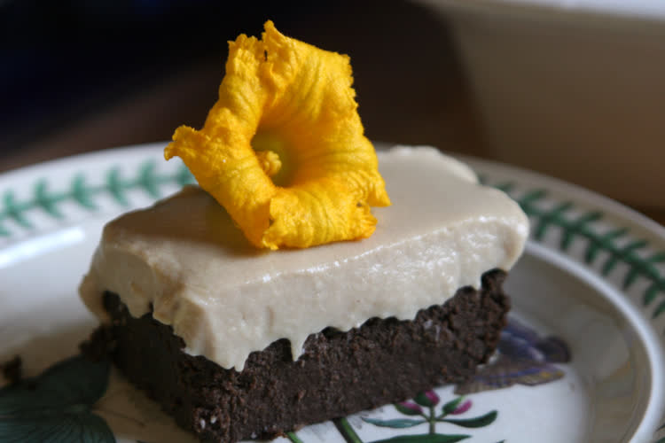 Delicata Squash Brownie