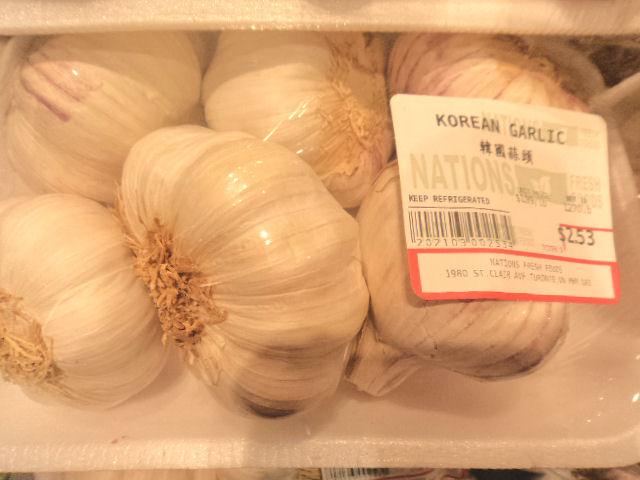 korean garlic